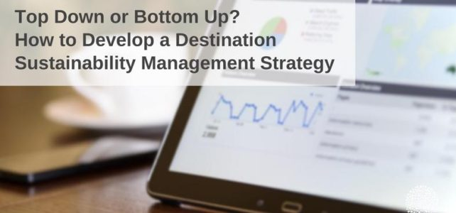 How to develop destination sustainability strategy