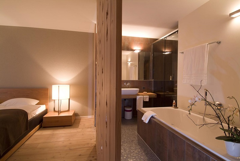 Suite at Hotel Schweizerhof Lenzerheide, Switzerland