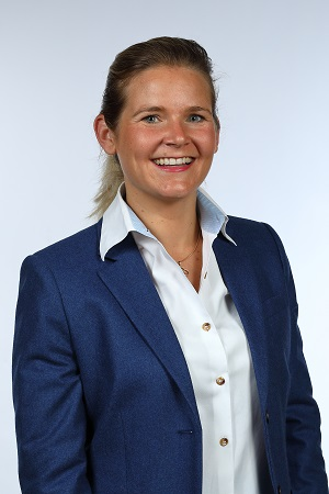 Anne-Pierre Ackermann, manager of Muottas Muragl Romantik Hotel in Switzerland