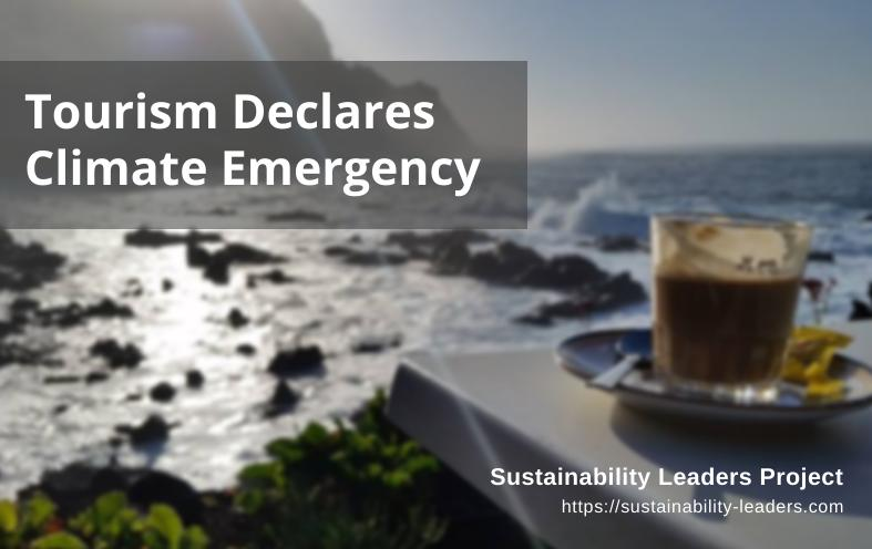 SLP Tourism Climate Emergency Declaration