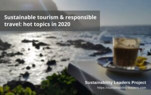Sustainable tourism - hot topics in 2020
