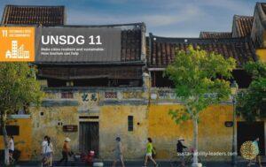 UNSDG 11 Build Sustainable Human Settlements