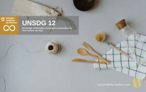UNSDG 12 Achieve Resource Efficiency